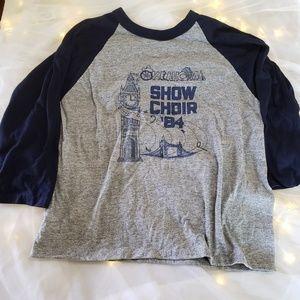 Vintage 1984 Oklahoma show choir shirt
